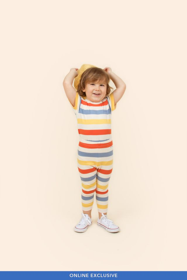 MULTICOLOR STRIPES BABY PANT