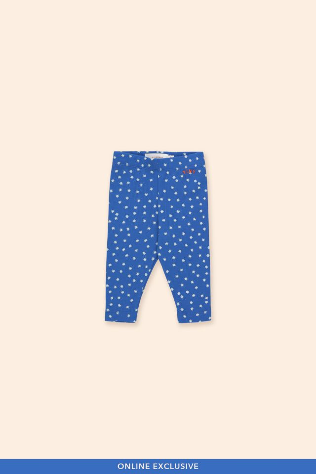 WHITE FLOWERS BABY PANT