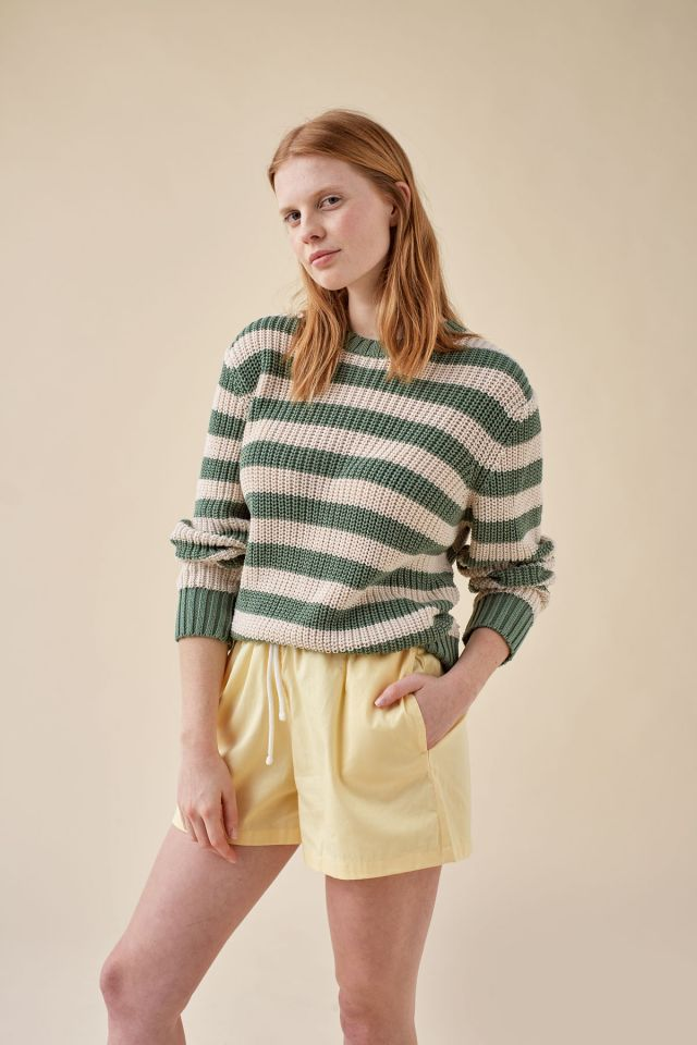 WOMAN STRIPES SWEATER