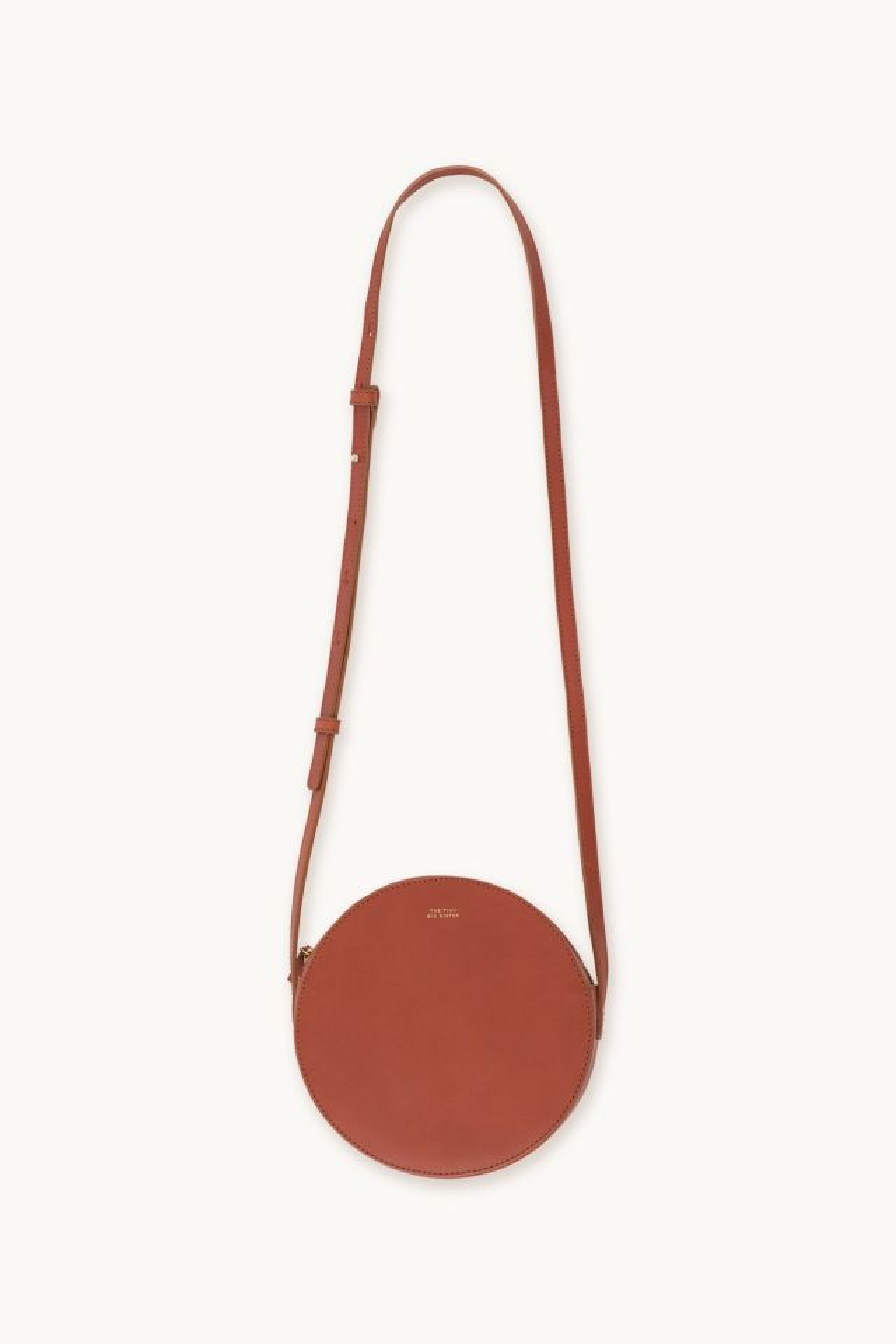 CATA LEATHER ROUND BAG