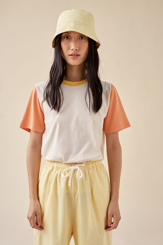 WOMAN COLOR BLOCKED TEE