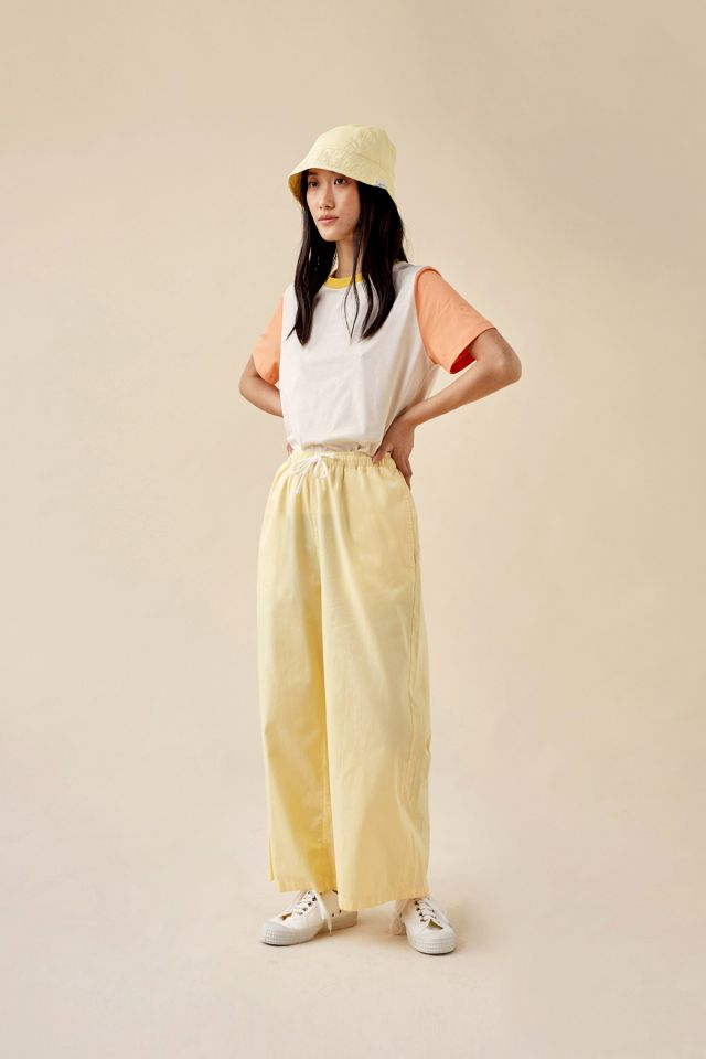 WOMAN TWILL TROUSERS