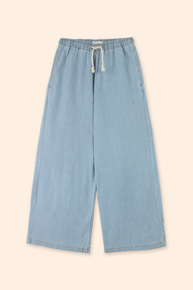 WOMAN DENIM TROUSERS