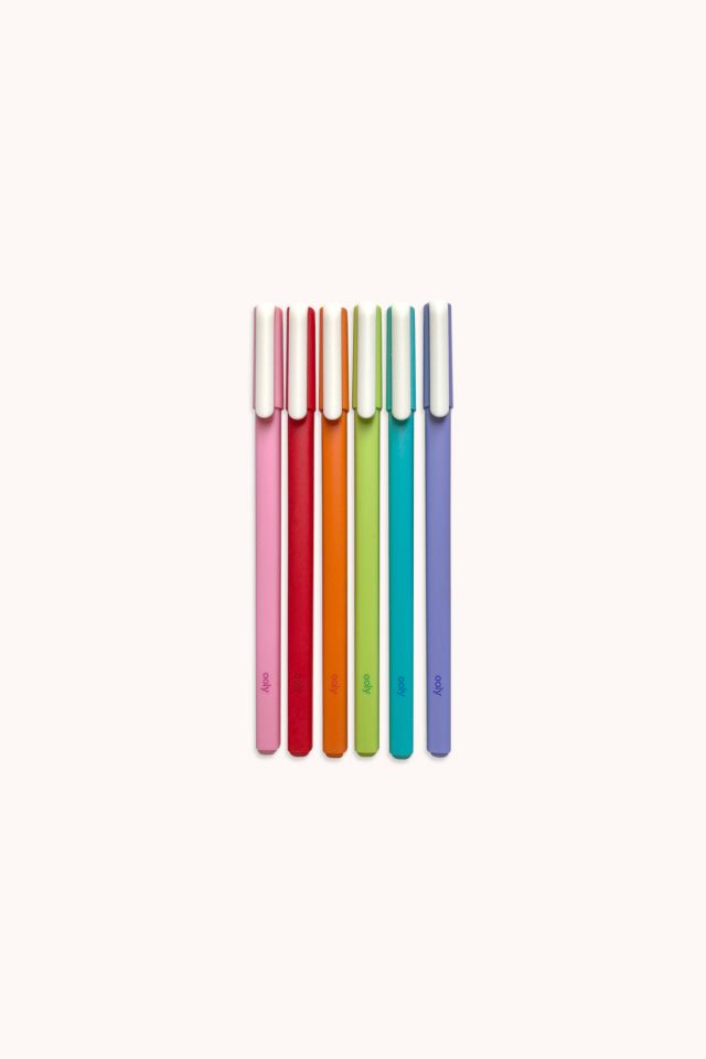 OOLY - Modern Writers Gel Pens - Set of 6