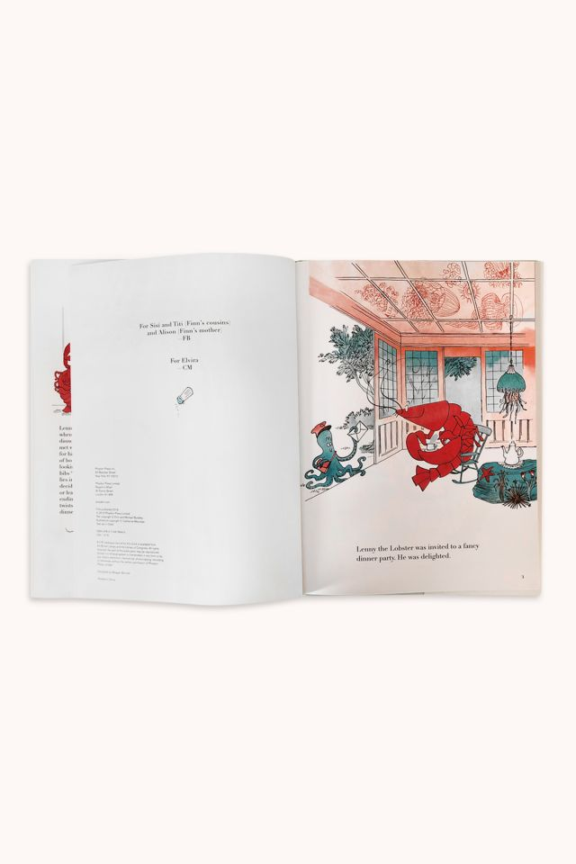 BOOK - Lenny the Lobster Can't Stay for Dinner