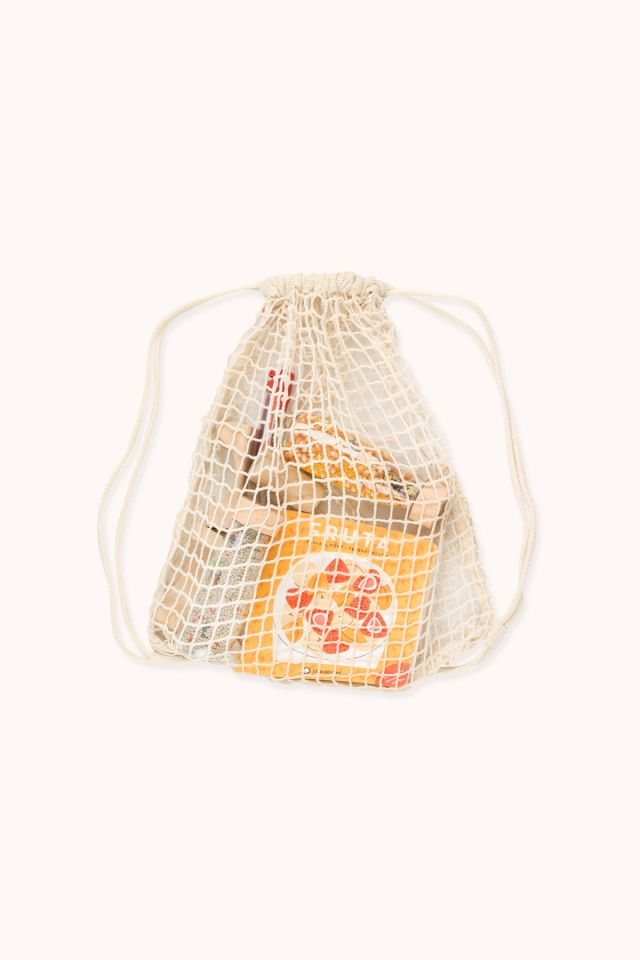 Backpack - Cotton net - Natural