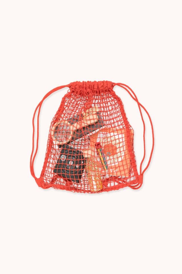 Backpack - Cotton net - Red