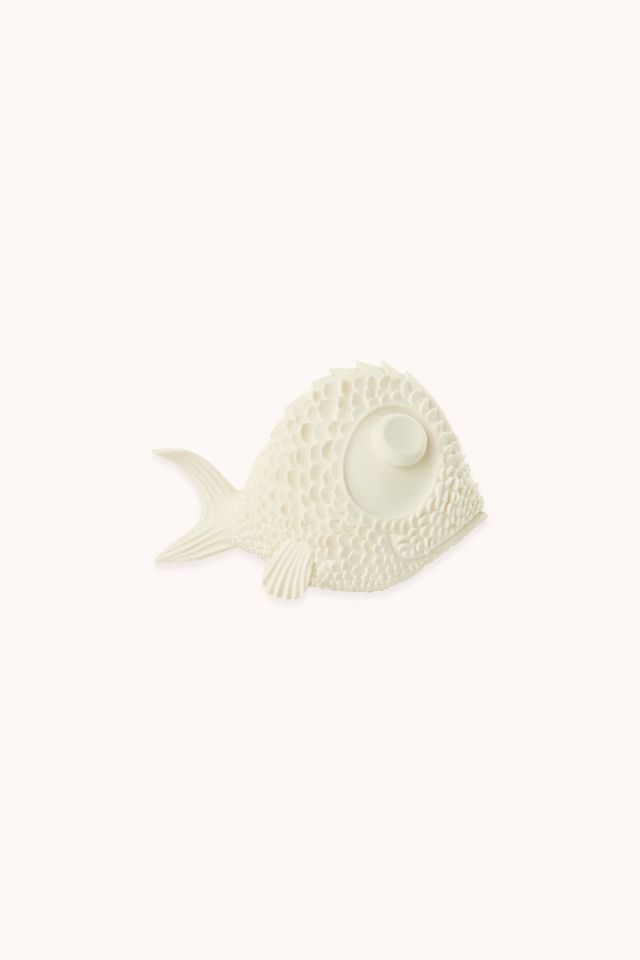 White Noi Fish Teether Lanco