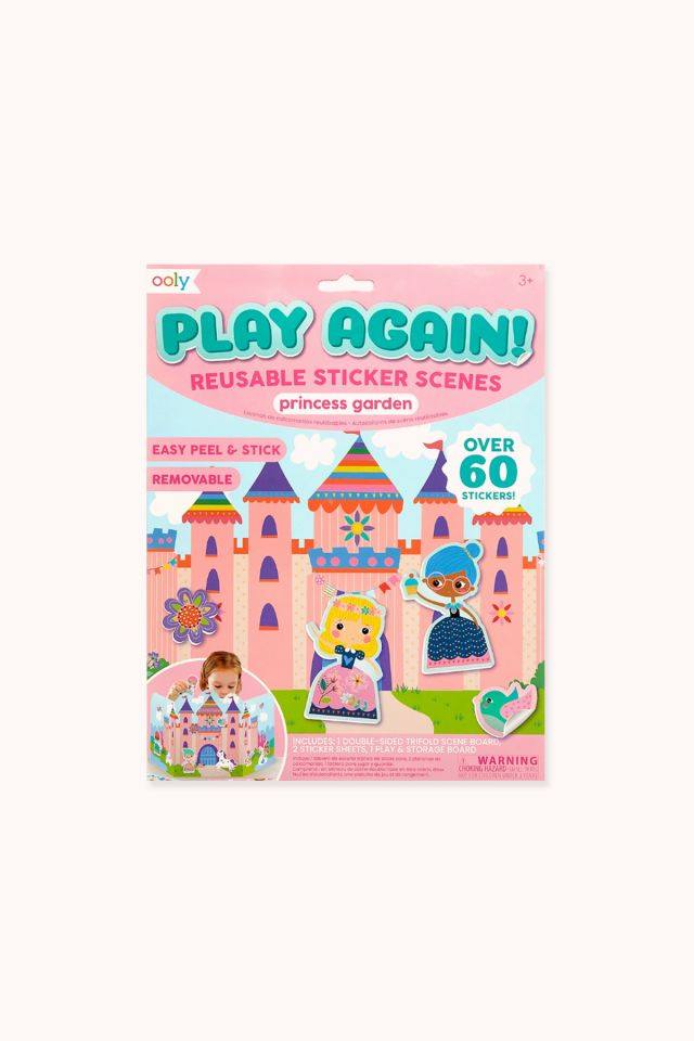 Play Again Stickers Scenes - Princess