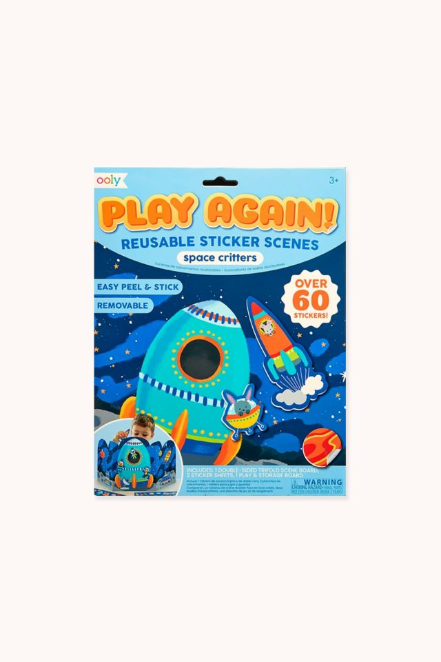 Play Again Stickers Scenes - Space