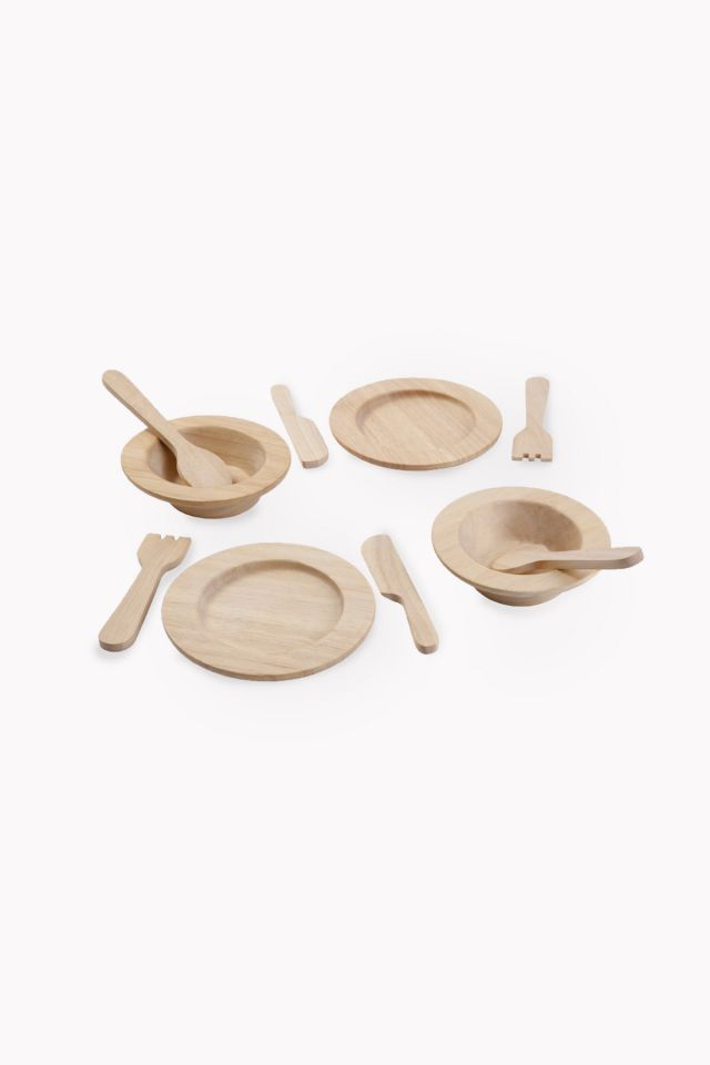 Eco Dishes and Cutlery Plantoys