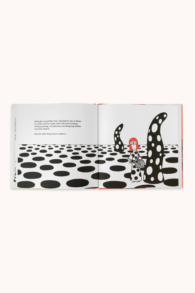 Yayoi Kusama, covered everything in dots