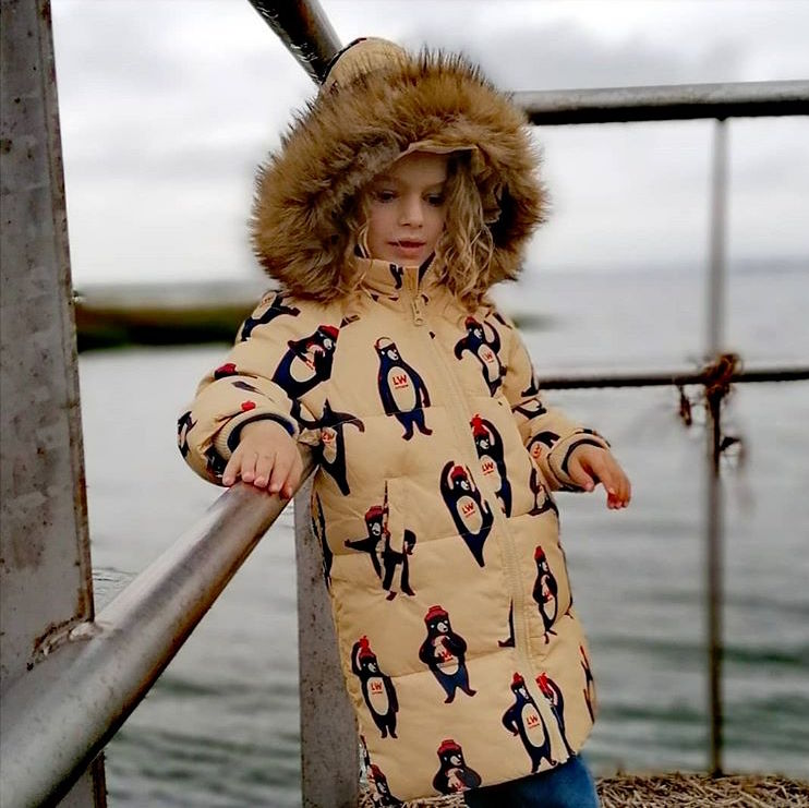 TINYCOTTONS BEARS PADDED JACKET