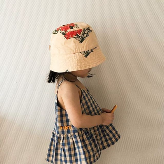 tinycottons flowers bucket hat