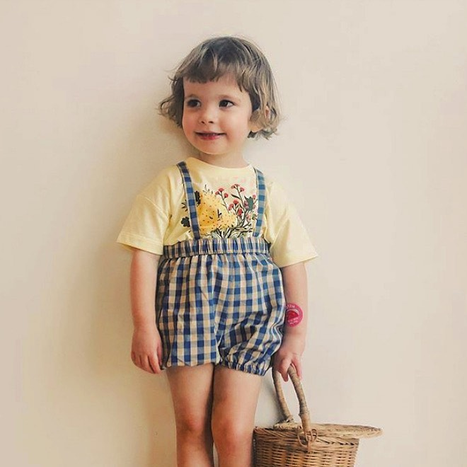 tinycottons VICHY BRACES BLOOMER